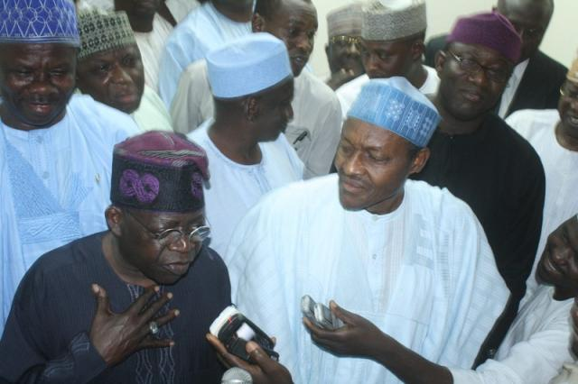 2015: Tinubu meets Buhari to begin ACN-CPC merger talks