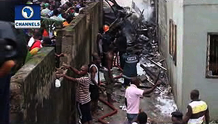 Jonathan declares 3 days of national mourning for crash victims