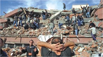 Six injured as quake hits southwest Turkey