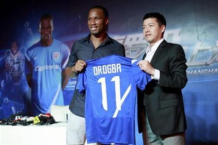 Challenge, not money, brought me to China: Drogba