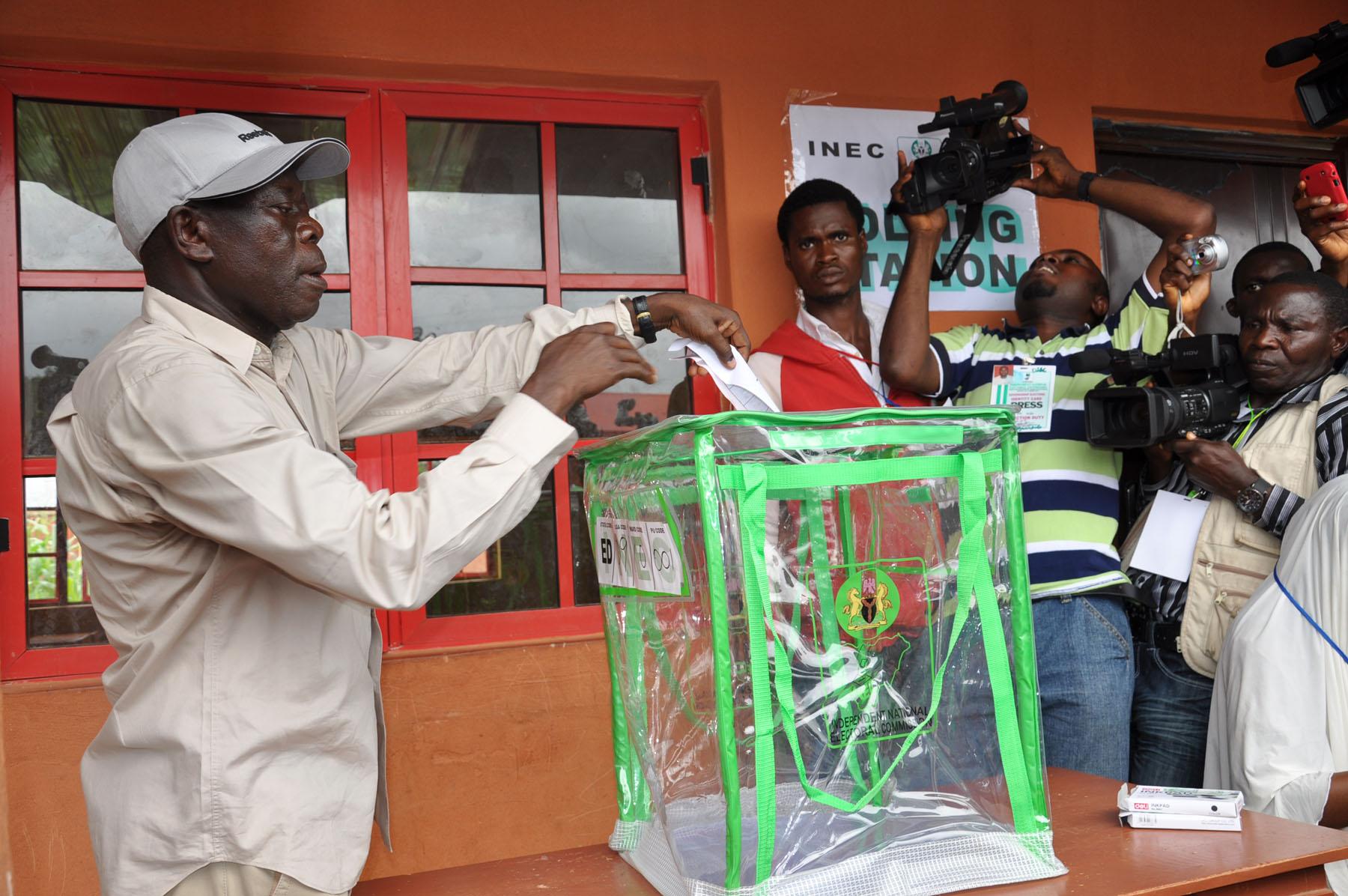 Oshiomhole wins Edo governorship election