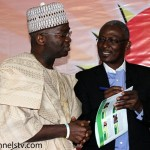 Governor Fashola with Kayode Akintemi