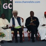 Bishop Mathew Kukah, Professor Wole Soyinka, Governor Amaechi