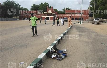 Suicide bomber kills 5 in Maiduguri mosque