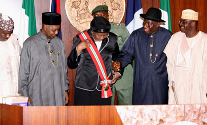 Mukhtar sworn in as first female Chief Justice of Nigeria