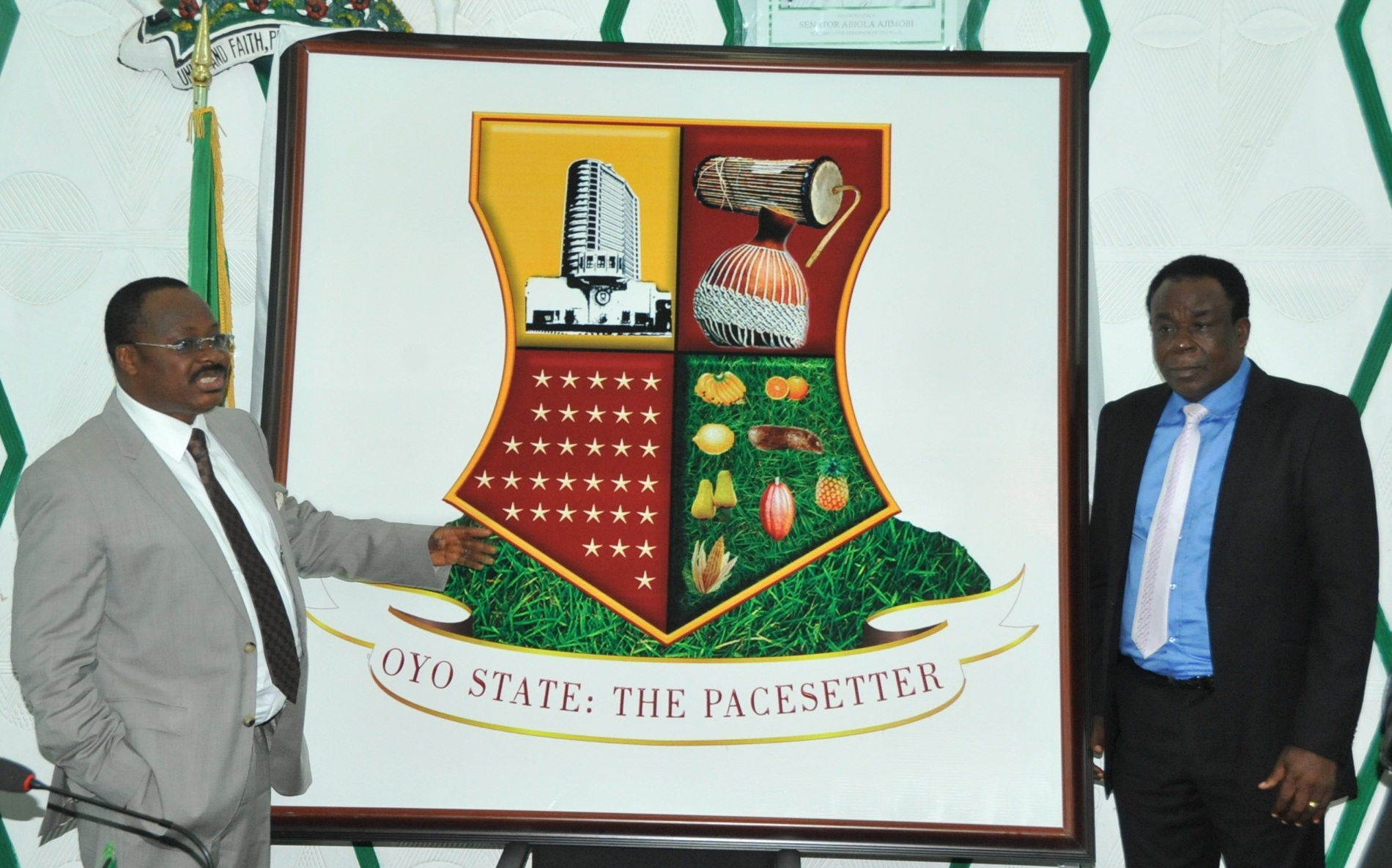 Oyo state gets new logo