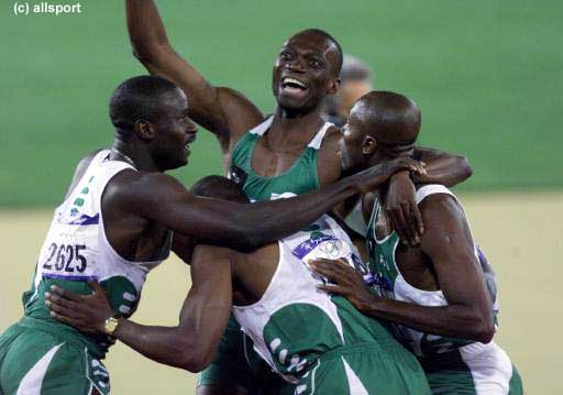 LONDON OLYMPICS: Nigeria is out of men's 4x400m relay
