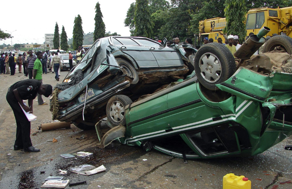 FRSC says bad attitudes/habit responsible for increasing road accident