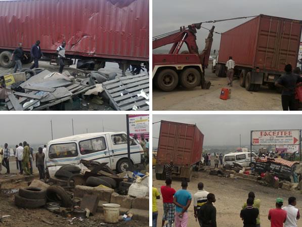 Accident on Lagos-Ibadan Expressway kills one