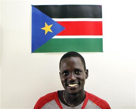 South Sudanese runner to race under Olympic flag