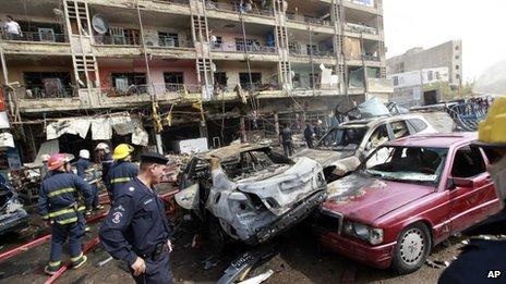 Car bomb kills 19 people in Baghdad