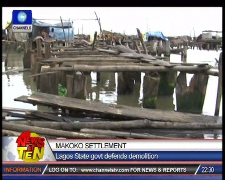 Documentary: One killed in battle to save Makoko