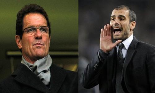 Russian FA shortlists Capello,Guardiola and Redknapp