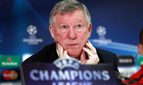 Ferguson promises to redeem champions' league glory