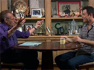 Former CNN Talkshow host Larry King now online with Hulu