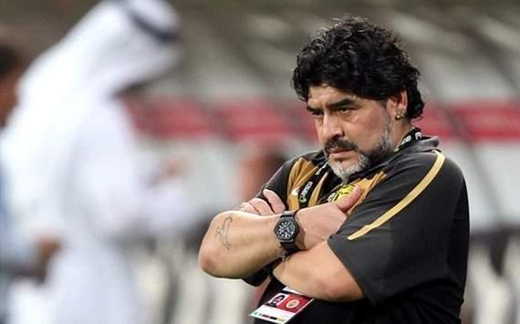 Dubai club sacks Maradona