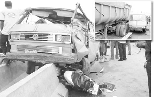 18 people killed in Abuja-Lokojo Expressway bus crash