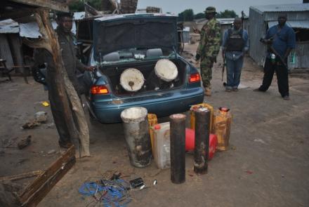 JTF intercept bomb-laden car in Maiduguri