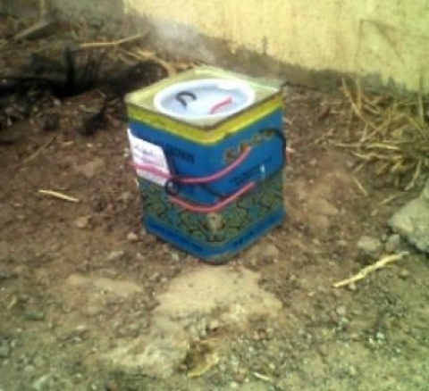 Unexploded bomb discovered in another church in Kogi