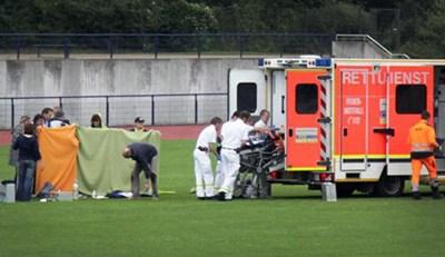 Man dies during Javelin throw