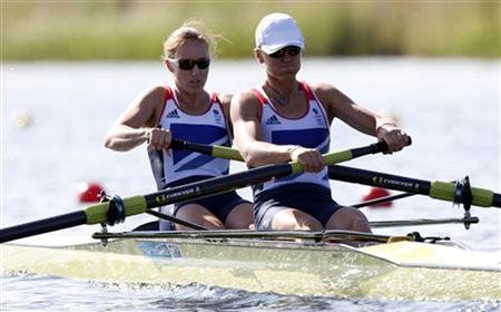 Rowing: Britain storm to first gold