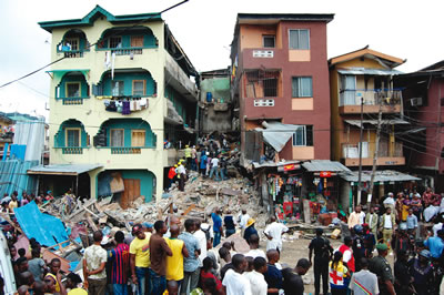 No casualty in Lagos building collapse