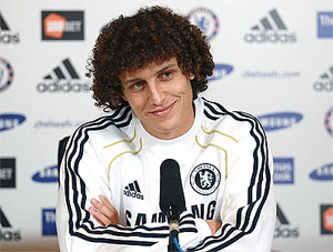 Defender David Luiz ruled out of Chelsea-Reading clash