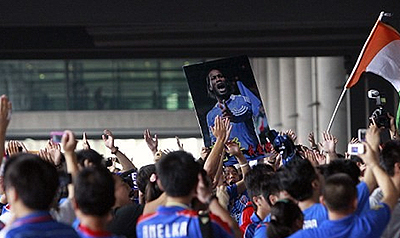 'Devil Beast', new moniker for Didier Drogba in China