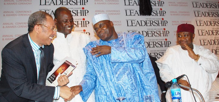 Atiku calls for true federalism, state police and a two party system