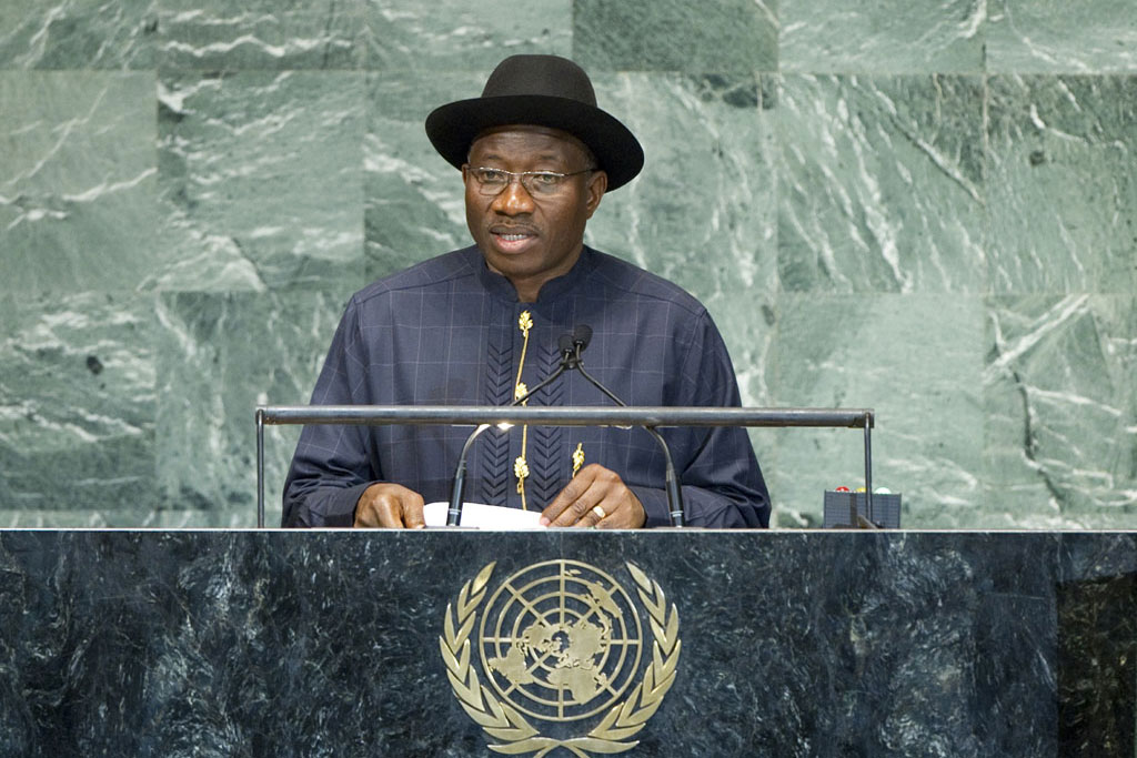 Jonathan addresses UN General Assembly, condemns denigration of religious beliefs