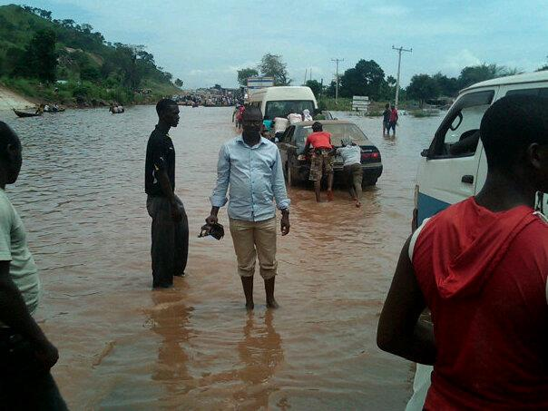 Saraki visits flood ravaged-Kogi state