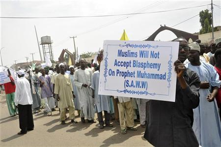 Nigeria Muslim anti-film protests continues