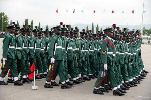 Nigeria Army seek retirement age of 70years for its officers