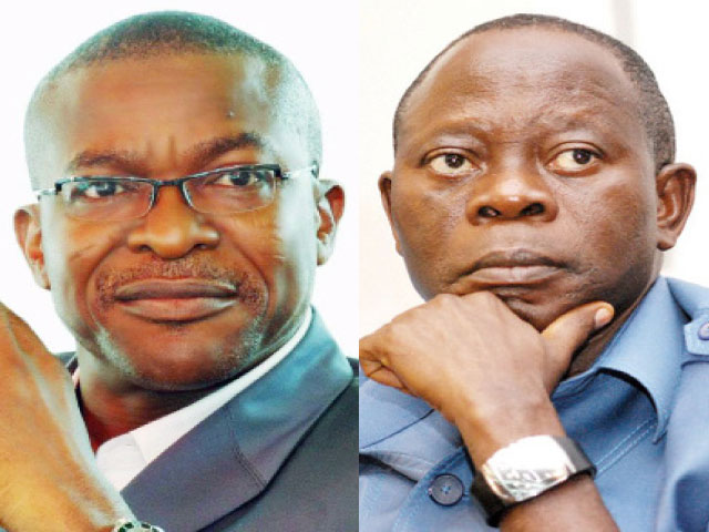 Tribunal strikes off PDP from petition against Oshiomhole
