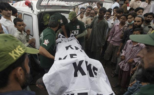 Blast At Election Rally Kills 15 In Pakistan