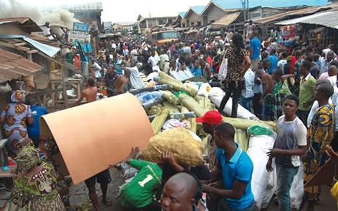 Fire guts Ibadan market, destroys property worth millions