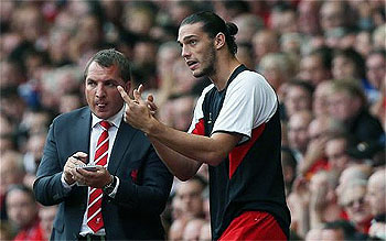 Loaning Andy Carroll a great mistake – Brendan Rodgers