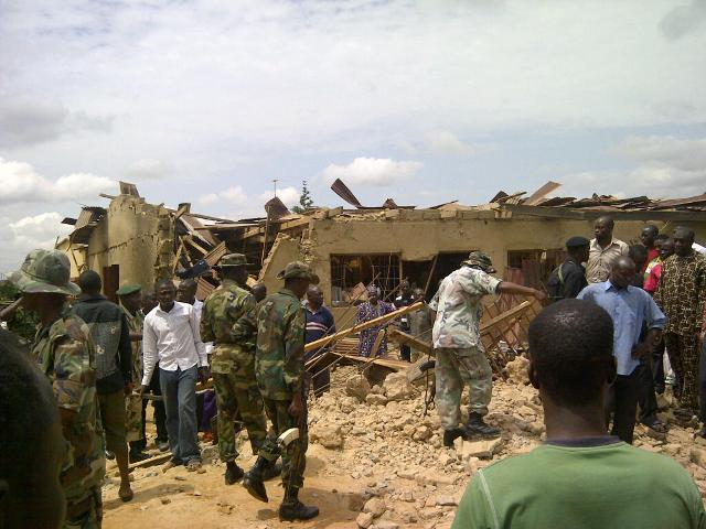 Series of explosions rock Zaria