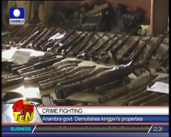 26 persons arrested for possesion of illegal items
