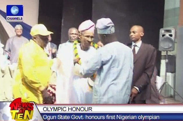 Ogun state honours Nigeria's first Olympian