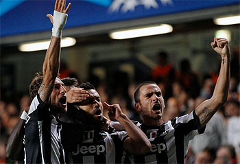 Champions League: Juventus 2-2 draw dampens Chelsea