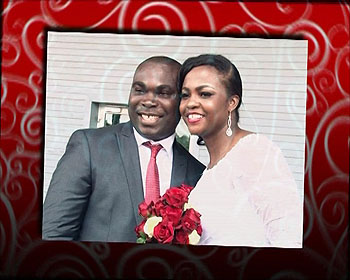 Ike Okafor and Amaka Nwadiugwu say 'I Do'