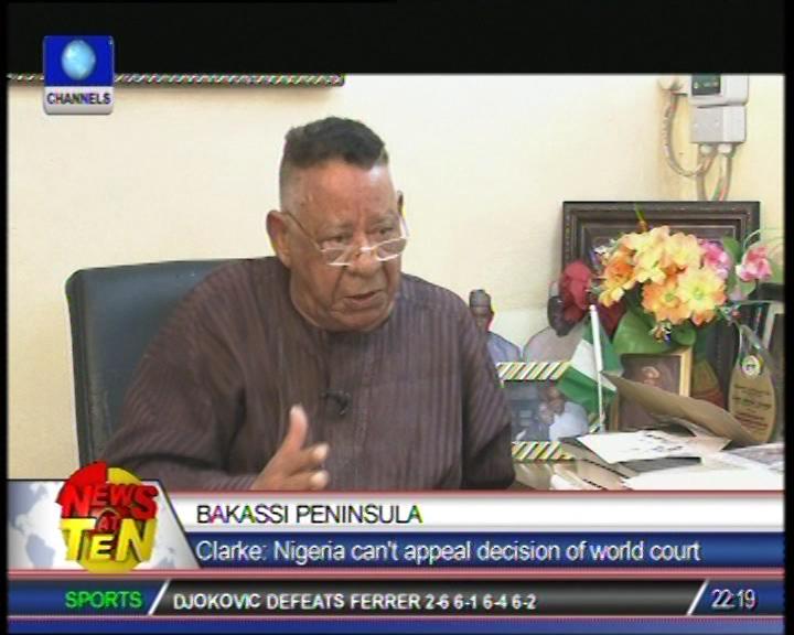 Bakassi Peninsula has never been part of Nigeria – Robert Clarke
