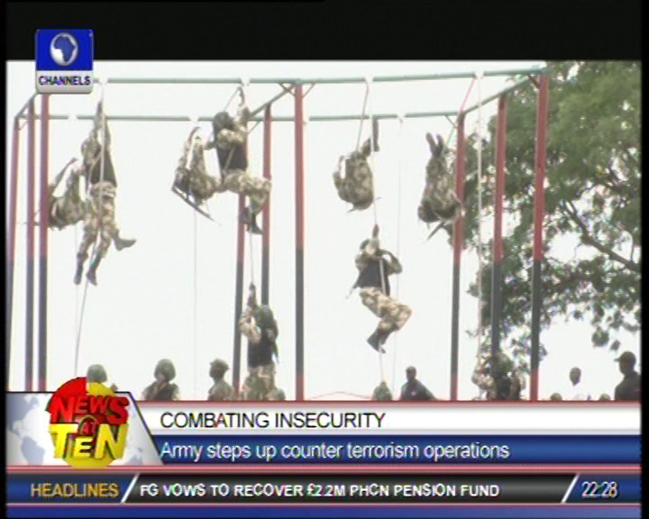Nigeria Army steps up counter terrorism operations