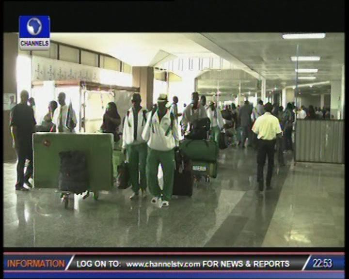Triumphant  Paralympic Team Nigeria returns