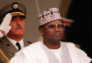Nigeria's military Head of State between November 17, 1993 and June 8, 1998, Sani Abacha