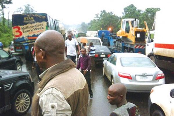 Ondo election: Benin-Ore road opened