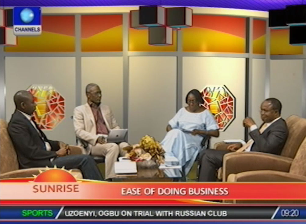 Discussants debate report on ease of doing business in Nigeria