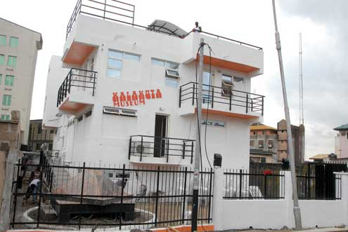 Fela's Kalakuta home turned museum