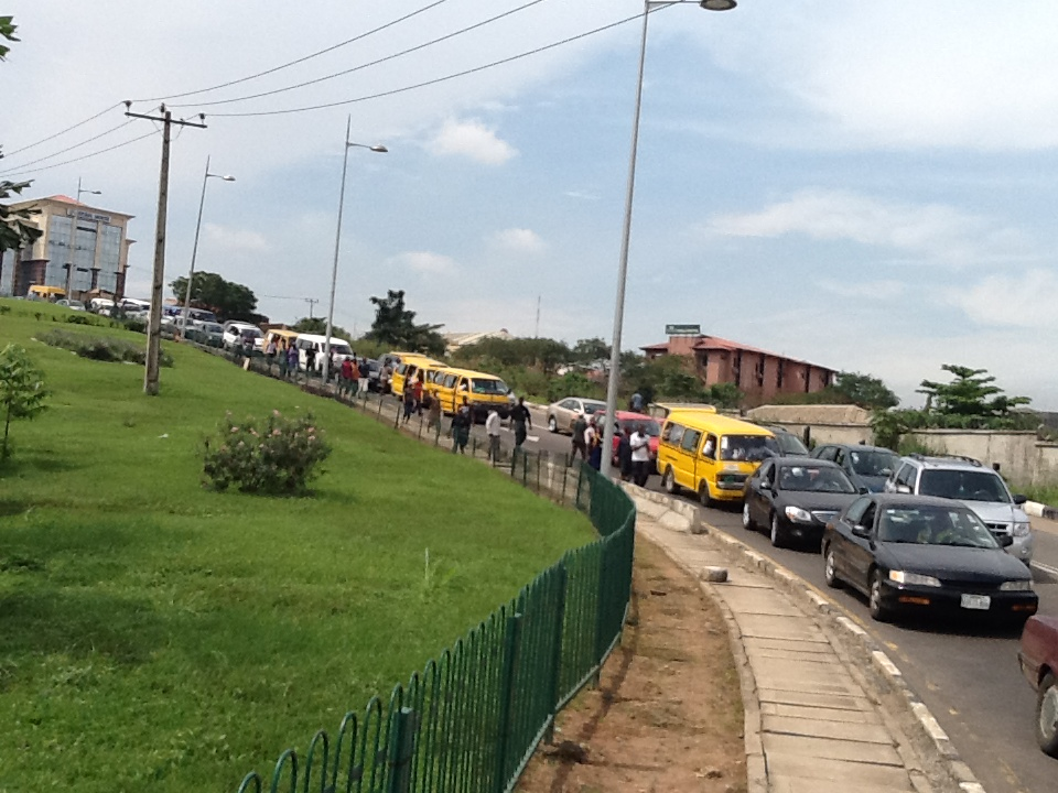 Sallah: Thousands of passengers stranded as fuel tanker blocks Lagos-Ibadan expressway